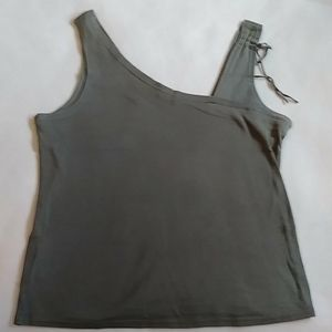 GUESS olive green tank top